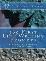 365 First Line Writing Prompts