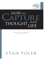How to Capture Your Thought Life