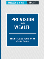 Provision and Wealth