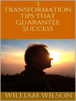 3 Transformation Tips That Guarantee Success