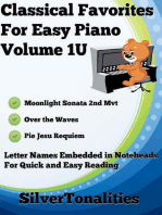 Classical Favorites for Easy Piano Volume 1 U