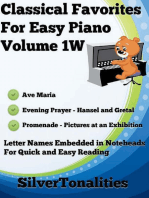 Classical Favorites for Easy Piano Volume 1 W