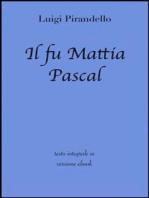 Il fu Mattia Pascal di Luigi Pirandello in ebook