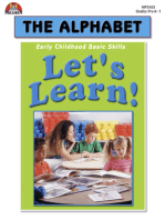 Let's Learn! The Alphabet