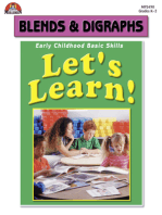Let's Learn! Blends and Digraphs