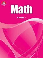 Math Workbook - Grade 1