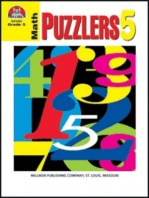 Math Puzzlers - Grade 5