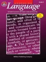 Assessing Language - Gr 5