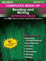 Milliken's Complete Book of Reading and Writing Reproducibles - Grades 5-6