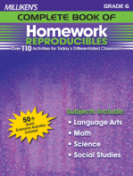 Milliken's Complete Book of Homework Reproducibles - Grade 6