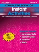 Milliken's Complete Book of Instant Activities - Grade 6