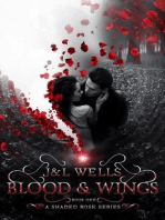 Blood and Wings (A Shaded Rose Series, #1)
