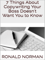 7 Things About Copywriting Your Boss Doesn't Want You to Know