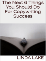 The Next 6 Things You Should Do for Copywriting Success