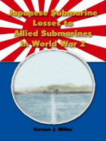 Japanese Submarine Losses to Allied Submarines In World War 2