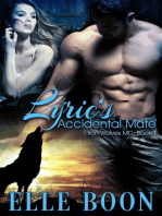 Lyric's Accidental Mate, Iron Wolves MC Book 1