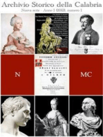 Archivio Storico della Calabria - Nuova Serie - Anno I. Numero 1