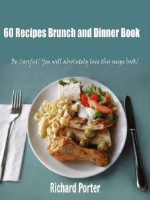 60 Recipes Brunch and Dinner Book