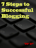 7 Steps to Successful Blogging