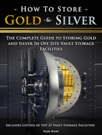 How To Store Gold & Silver