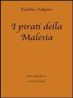 I pirati della Malesia di Emilio Salgari in ebook