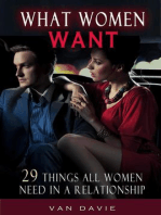 What Women Want - 29 Things All Women Need In A Relationship