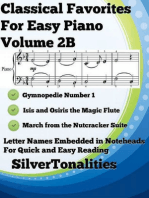 Classical Favorites for Easy Piano Volume 2 B