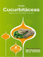 Manual para el cultivo de hortalizas. Familia Cucurbitáceas