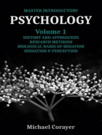 Master Introductory Psychology Volume 1: Master Introductory Psychology, #1