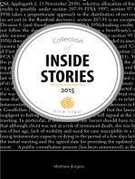 Collection of Inside Stories 2015