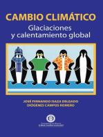 Cambio Climático. Glaciaciones y calentamiento global