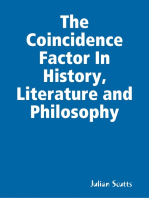 The Coincidence Factor In History, Literature and Philosophy