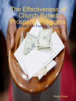 The Effectiveness of Church-Based Prosperity Programs