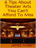 6 Tips About Theater Arts You Can't Afford to Miss