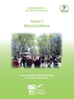 Fundamentos de salud pública Tomo I