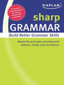 Sharp Grammar: Building Better Grammar Skills