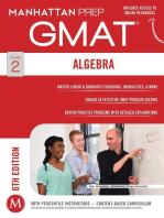 GMAT Algebra Strategy Guide
