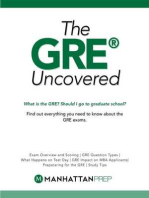 GRE Uncovered