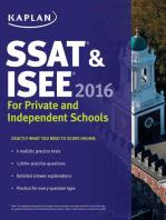 Kaplan SSAT & ISEE 2016
