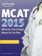 MCAT 2015