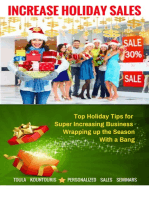 How to Increase Holiday Sales and Wrap Up the Season with a Bang