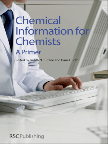 Chemical Information for Chemists: A Primer