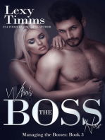Who's the Boss Now: Managing the Bosses Series, #3