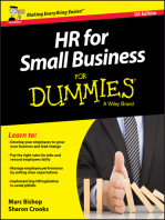 HR for Small Business For Dummies - UK