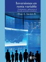 Inversiones en renta variable: Fundamentos y aplicaciones al mercadeo accionario colombiano