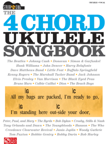 The 4-Chord Ukulele Songbook: Strum & Sing Series