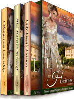 To Woo an Heiress Boxed Set (Three Sweet Regency Romances in One)