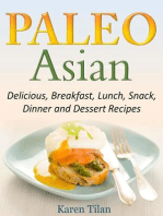 Paleo Asian Recipes Delicious, Breakfast, Lunch, Snack, Dinner and Dessert Recipes