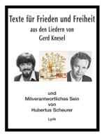 Texte für Frieden und Freiheit