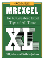 MrExcel XL: The 40 Greatest Excel Tips of All Time